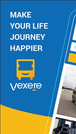 VeXeRe – Ứng dụng tìm kiếm và đặt vé xe khách